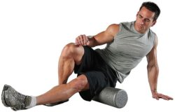 Foam rolling is one method for muscle recovery.
